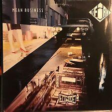 THE FIRM • Mean Business • Vinile Lp • 1986 ATLANTIC