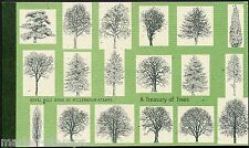 GREAT BRITAIN  STANLEY GIBBONS trees COMPLETE PRESTIGE BOOKLET MINT NH