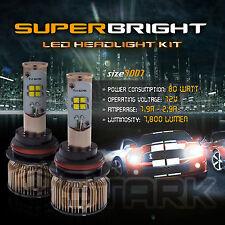 LED 80W 7800LM LED Kit CREE XT-E 6000K Headlight Dual Hi Lo Bulbs - 9007 HB5