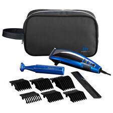 BaByliss 7447BGU Professional Corded Mens Hair Clipper Gift Set Blue Edition