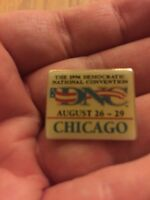 1996 Democratic National Convention Lapel Pin Button President Bill Clinton