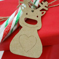100X Label Price Hang Tags Paper Cards Christmas Decoration Gifts Fashion QP