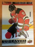 UPPER DECK 2018-2019 SERIES ONE CANVAS TAYLOR HALL CARD C50