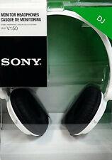 SONY MDR-V150 WHITE Monitoring DJ Stereo Headphones MDR-V150W Brand New