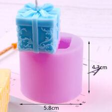 3D Confezione Regalo Candela Sapone Stampo Silicone Torta Ripieno Cioccolato