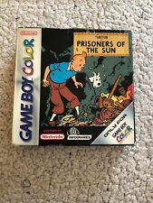 TINTIN PRISONERS OF THE SUN GAME BOY COLOR EUR PAL COMPLETE