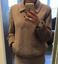 Brown Cashmere Coat Size 8/10