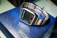 SEIKO LCD MOONRAKER M354-5019  ANNI 70 J, BOND OTTIMO