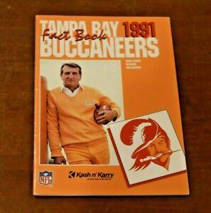 Mint 1991 Tampa Bay Buccaneers NFL Media Guide Yearbook Press Book Program