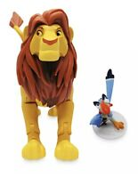 NEW SIMBA ZAZU DISNEY TOYBOX ACTION FIGURE LION KING IN HAND FREE FAST SHIPPING!
