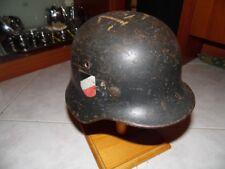 Elmetto tedesco M40 WWII German helmet stahlhelm casque