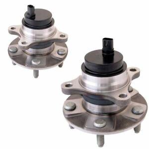 Front Hub Wheel Bearing Kits Pair For Lexus GS (2005-2011)