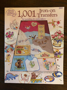 1001 Iron-on Transfers for Painting & Embroidery