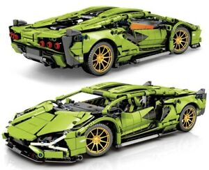 lamborghini Sian 1254 Pieces Building Blocks Technic Series Super Car 42115