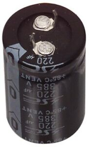 Aluminum Electrolytic Capacitor Snap In Terminal Type 4700uF 50V 105°C Jamicon
