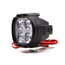 High Power 12W Super Bright Motorcycle Led Light Fog Spot White Headlight