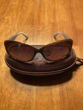 Maui Jim Nalani Tortoise on Blue Sunglasses