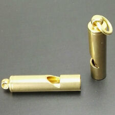 Brass Whistle Outdoor Emergency EDC Survival Tool for Camping Hiking Outdoors