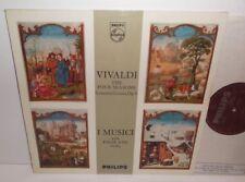 SAL 3582 Vivaldi The Four Seasons I Musici with Felix Ayo Violin Plum/Silver