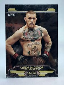 Conor McGregor 2017 Topps Chrome UFC 1st Year Tier One RC Rookie Card #UT-CM