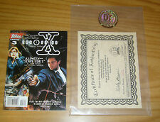 X-Files Digest #3 VF/NM signed by miran kim dynamic forces COA (#1/500) lowest!