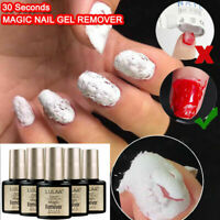 Nail Gel Burst Magic Remover Gel Nail Polish Soak off Acrylic Clean Degreaser JP