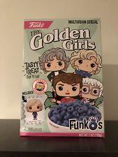 Funko Pop The Golden Girls Cereal Brand New  Target *Minor Box Damage* RARE