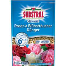 Substral Osmocote Rosen & Blühsträucher Dünger - 750 g - Rosendünger