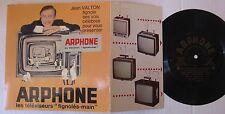 JEAN VALTON - 45 Tours FLEXI PUBLICITAIRE - ARPHONE TELEVISEURS