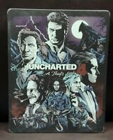 Uncharted 4 Thief's End Special Steelbook PS4 Sony Playstation 4 GAME Tested