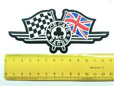 Aufnäher Aufbügler Patch Cafe Racer Norton Triumpf BSA HD AJS Guzzi Buell