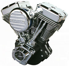 Ultima® Black 127 c.i. El Bruto® Motor for 1984-99 Harley and Custom Models