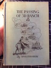 The Passing Of 3D Ranch By Lon R Stansbery Signed!! Oklahoma Tulsa Rare