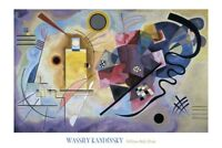 Yellow, Red, Blue, 1925 by Wassily Kandinsky Art Print Abstract Poster 24x36