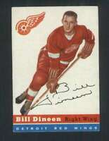 1954-55 Topps #57 Bill Dineen EXMT/EXMT+ Red Wings 108209