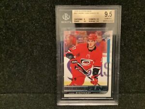 2018-19 Upper Deck Young Guns #451 Andrei Svechnikov RC Rookie BGS 9.5 GEM MINT