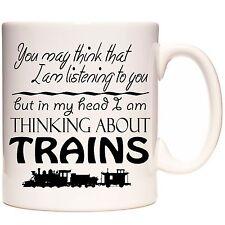 TAZZA dei treni, si può pensare... ma nella mia testa STO pensando di treni a vapore.
