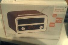 Retro Design Musik Anlage MP3 AUX Bluetooth Nostalgie Stereo Sound UKW Wecker