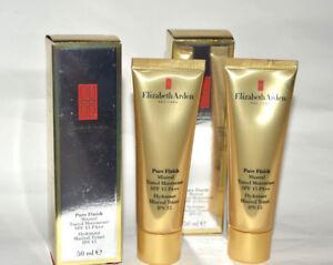 Elizabeth Arden Pure Finish Mineral Tinted Moisturizer Medium Light U CHOOSE