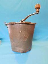 Antique 1904 Universal No. 8 Bread Maker Bucket Mixer  Landers Frary and Clark