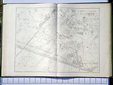 Paris XIV ème - Préfet POUBELLE Très Rare Plan de 1888 au 1/5000 (67 x 94 cm)