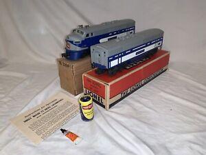 Lionel Postwar 2240 Wabash F3 AB Diesel Set in OBs (MUST SEE!) (NO RESERVE!)