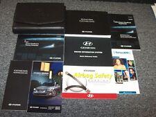 2012 Hyundai Genesis Owner Owner's Operator User Guide Manual Set 3.8L 4.6L 5.0L