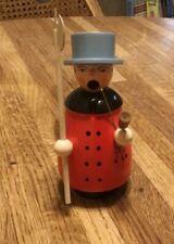vintage german incense smoker, night watchman christmas, Erzgebirge, collectors