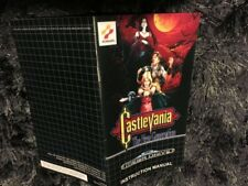 Color Custom Manual CASTLEVANIA SEGA Mega Drive PAL Version - AAA+++
