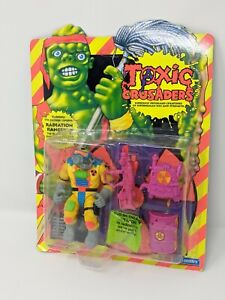 Vintage Toxic Crusaders RADIATION RANGER Sealed