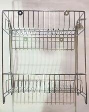 NEW Kitchen Bathroom Storage Rack 2 Tier Shelf Rack Wire Chrome Bathroom Rack
