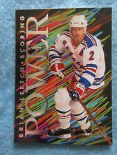 New listing 1993-94 Flair NHL Trading Card Scoring Power Brian Leetch