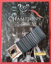Panini komplett Champions of Europe 2005 + Album Leeralbum alle Sticker