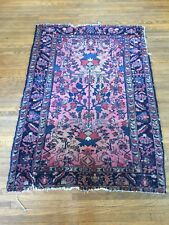 1900s Antique Persian Rug - Heriz Tribal Carpet